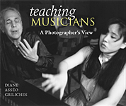 Click to enlarge the Teaching Musicians: A Photographer's View book jacket